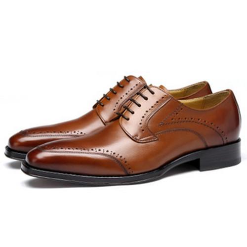 Mens Italian Leather Dress Shoes