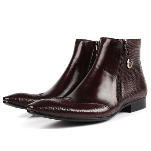 Mens Pointed Boots Quality Boots For Men
