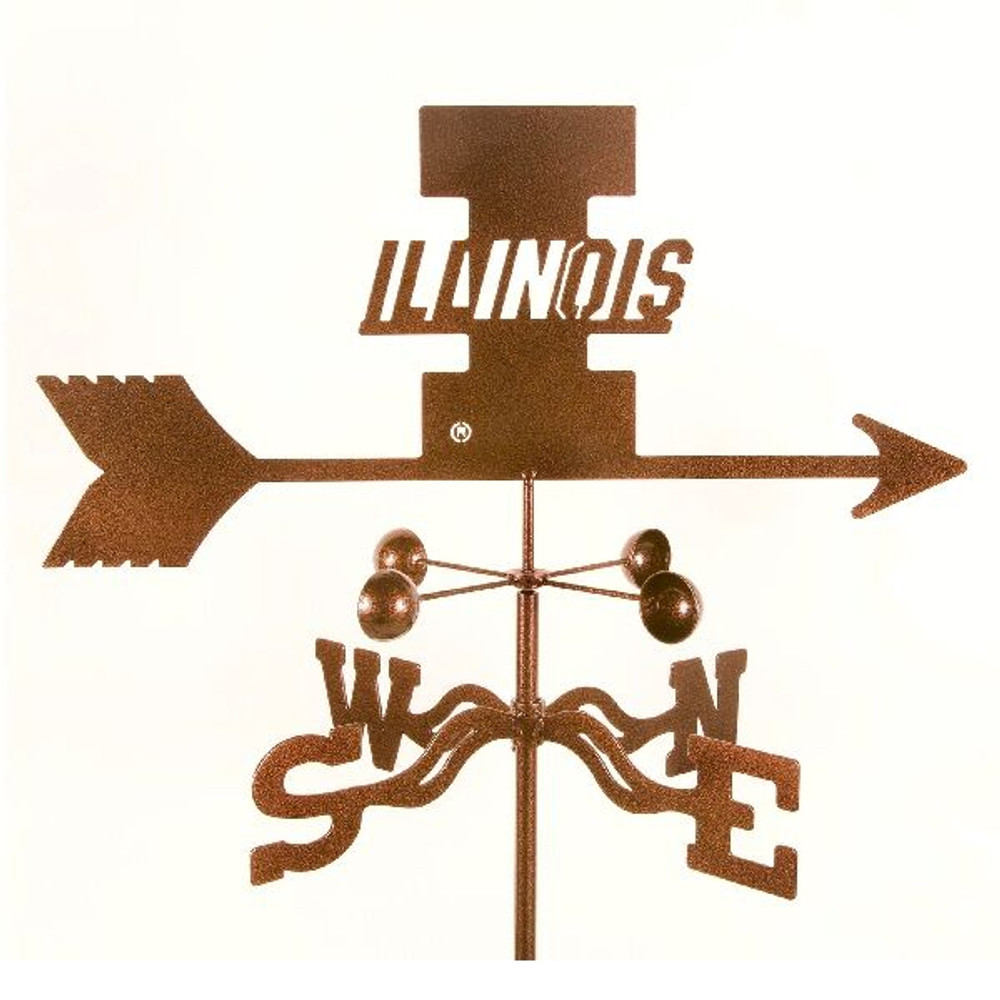 Illinois Fighting Illini Weathervane | EZ Vane | ILL