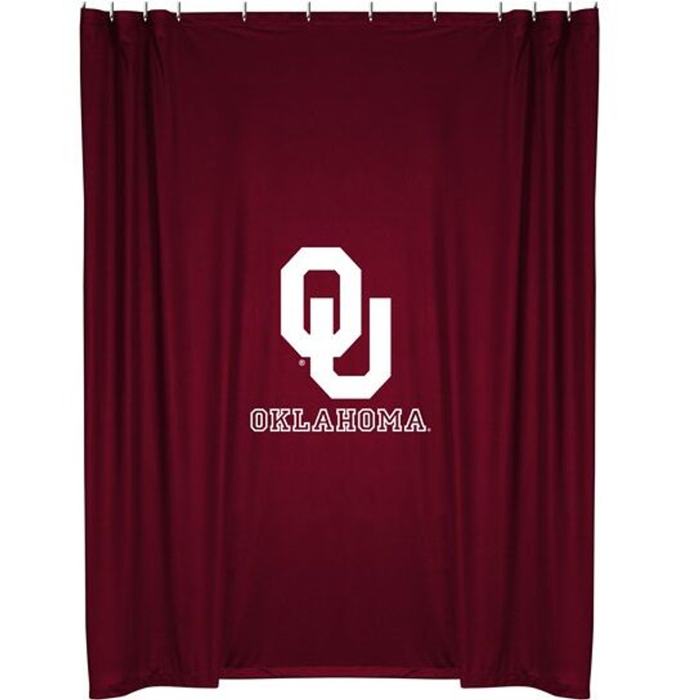 Oklahoma Sooners Shower Curtain | Sports Coverage | 04JRSHC4OKU7272