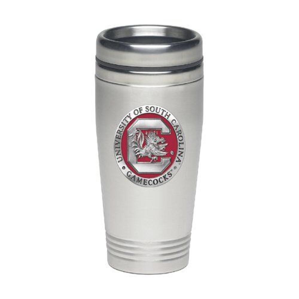 South Carolina Gamecocks Thermal Mug | Heritage Pewter | TD10165E