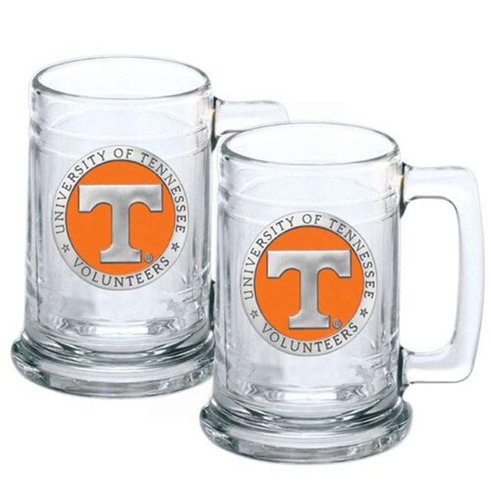 Tennessee Volunteers Beer Mug Set of Two | Heritage Pewter | ST10115E