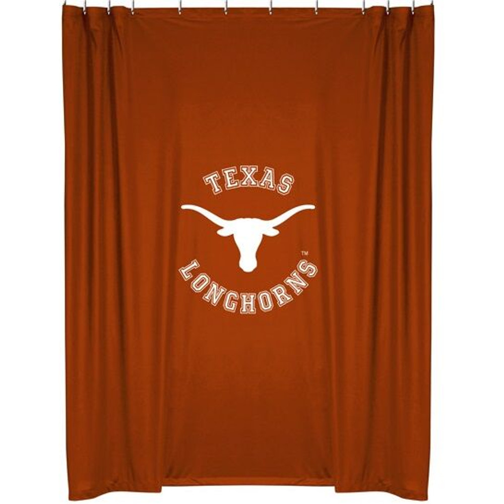 Texas Longhorns Shower Curtain