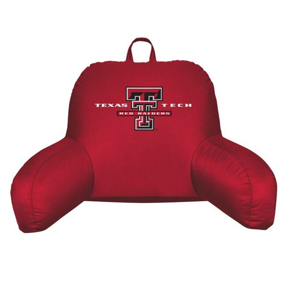 Texas Tech Red Raiders Bedrest Pillow | Sports Coverage | 04JRBDR4TXT1912