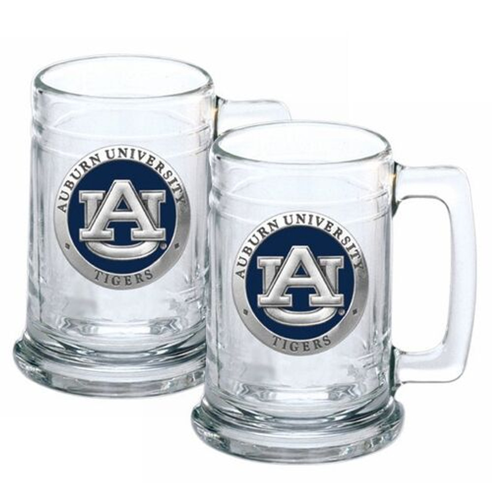 Auburn Tigers Beer Mug Set of Two | Heritage Pewter | ST10155EB
