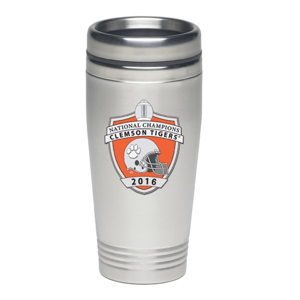Clemson Tigers National Champions Thermal Mug | Heritage Pewter | TM11004E