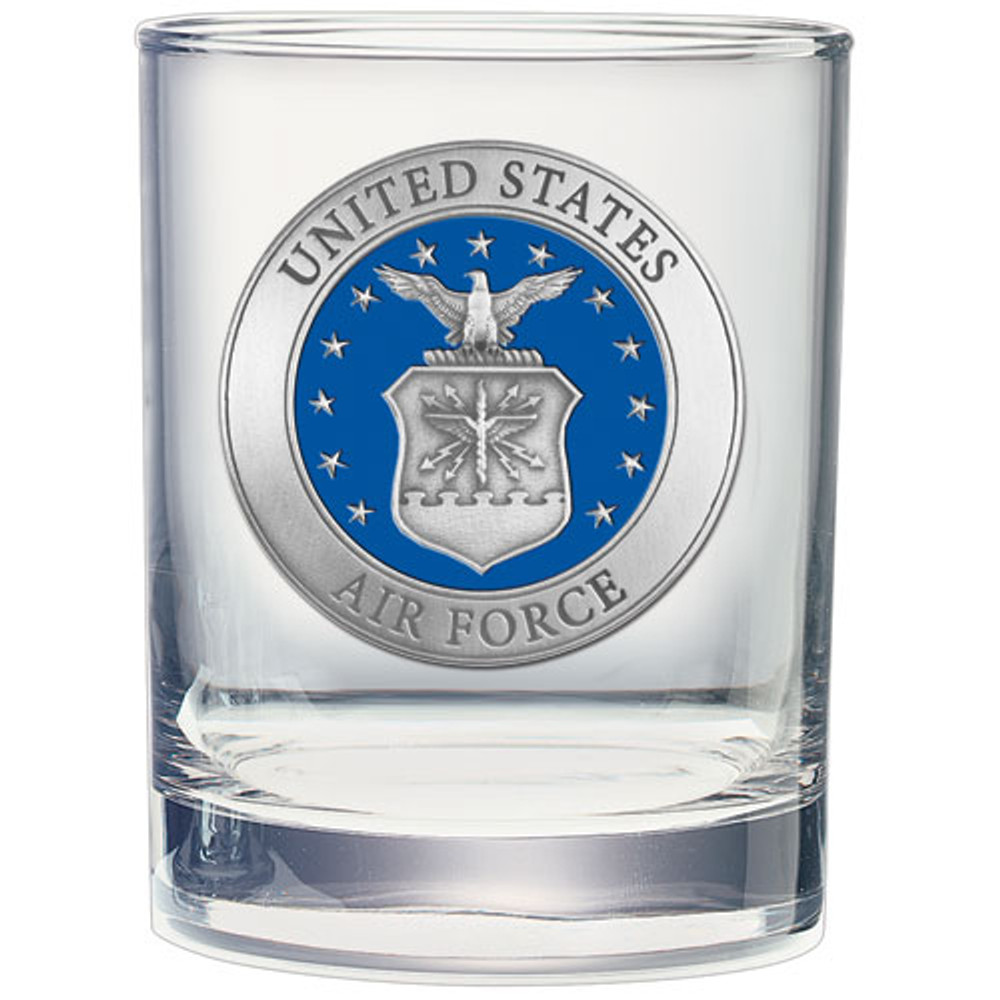 Air Force Academy Cocktail Glasses | Heritage Pewter | DOF10271EB