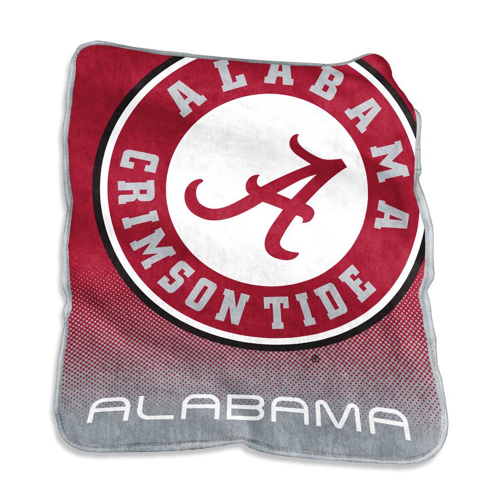 Alabama Crimson Tide Logo  Raschel Throw Blanket   Logo Chair   102-26A
