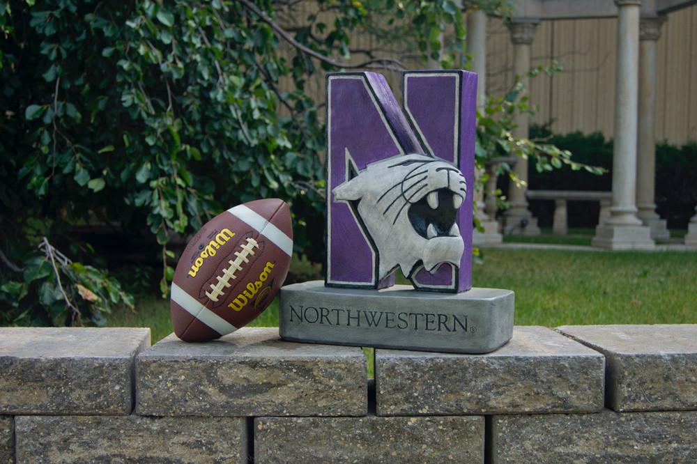 Northwestern Wildcats Mascot Garden Statue | Stonecasters | 2995HT-1
