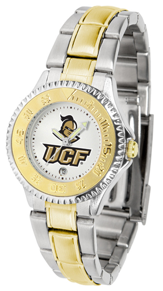 UCF Knights Ladies Competitor Two-Tone Watch | SunTime | ST-CO3-UCF-COMPLMG