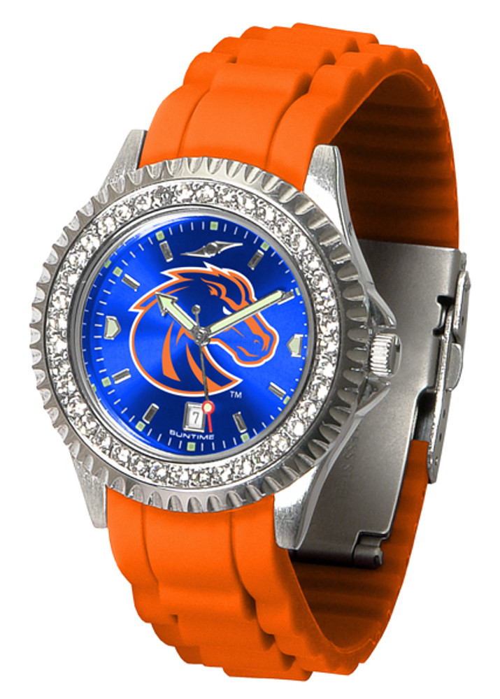 Boise State Broncos Ladies Sparkle Watch | SunTime | ST-CO3-BSB-SPARKLE