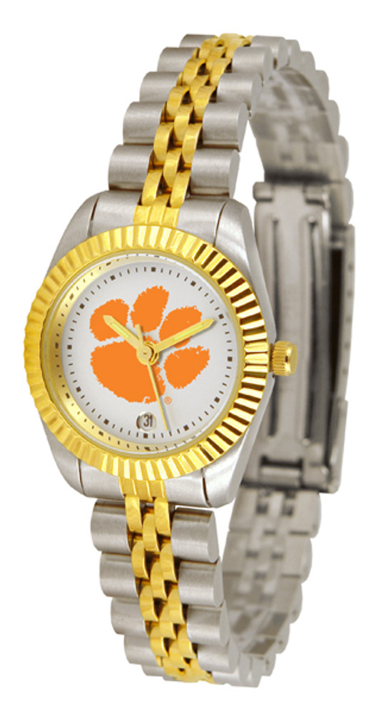 Clemson Tigers Ladies Premium Executive Watch | SunTime | ST-CO3-CLT-LEXT