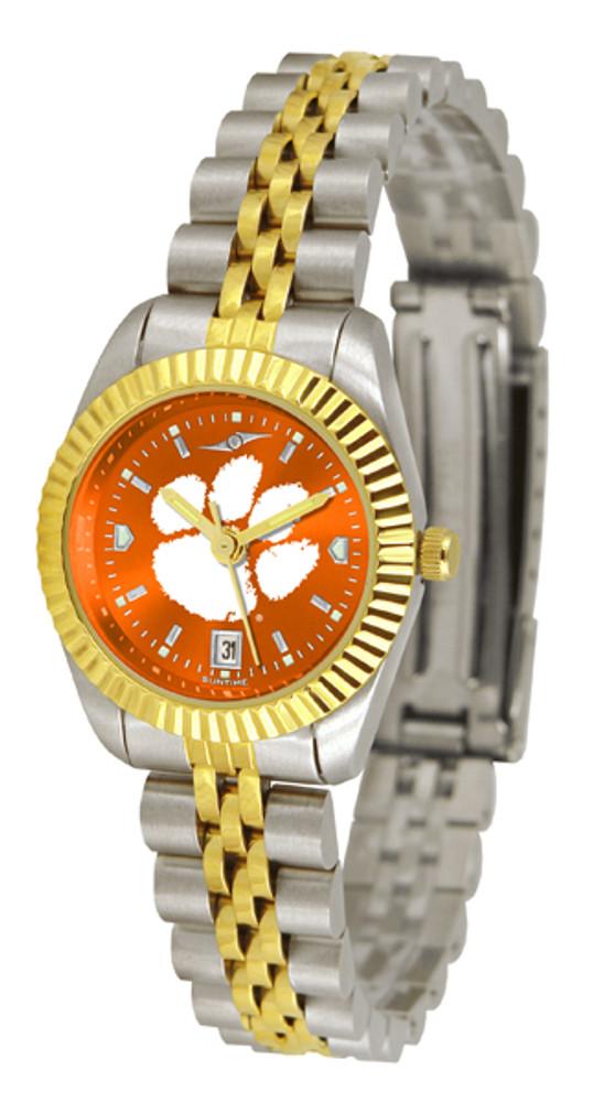 Clemson Tigers Ladies Premier Executive AnoChrome Watch | SunTime | ST-CO3-CLT-LEXT-A