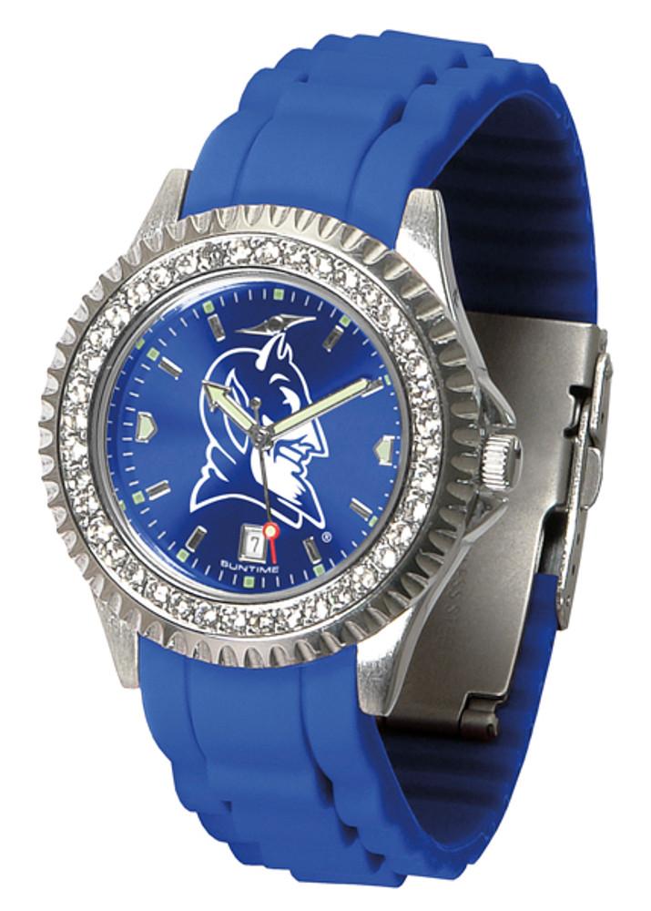 Duke Blue Devils Ladies Sparkle Watch | SunTime | ST-CO3-DBD-SPARKLE