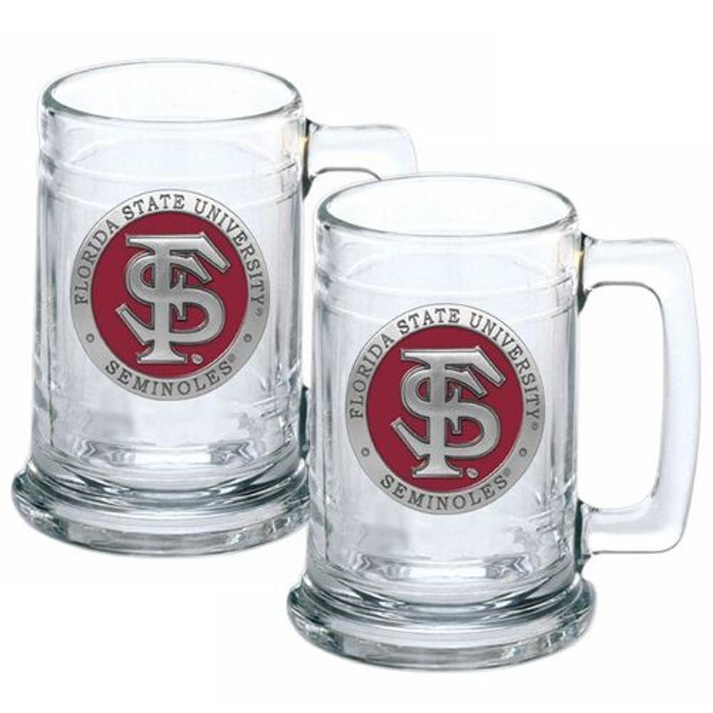 FSU Seminoles Beer Mug Set of Two | Heritage Pewter | ST10265ER