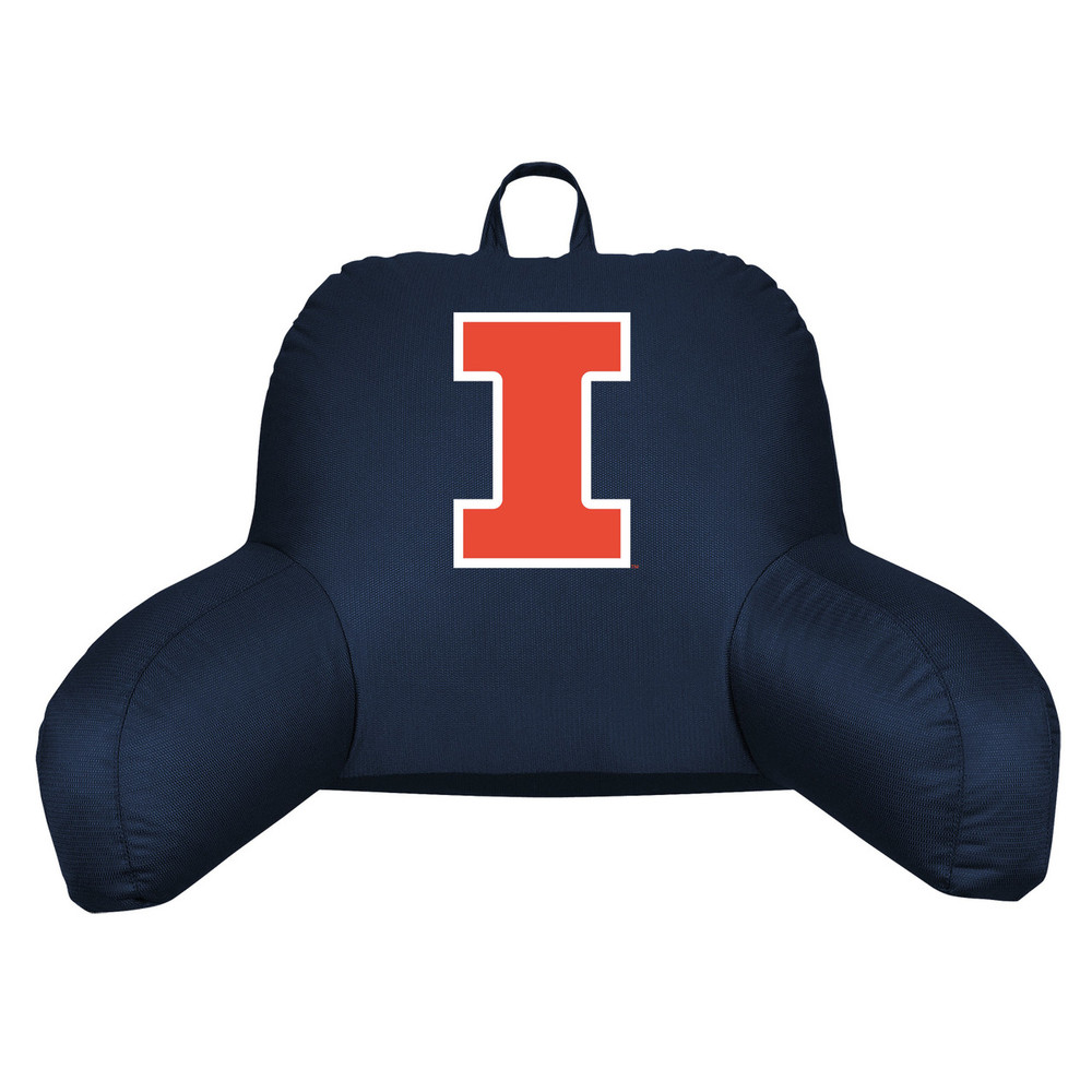 Illinois Fighting Illini Bedrest Pillow | Sports Coverage | 04JRBDR4ILU1912