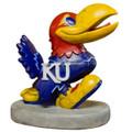 Kansas Jayhawks Mascot Garden Statue