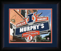 Illinois Fighting Illini Personalized Pub Print | Get Letter Art | ILLPUB