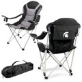 Michigan State Spartans Reclining Camp Chair | Picnic Time | 803-00-175-354-0