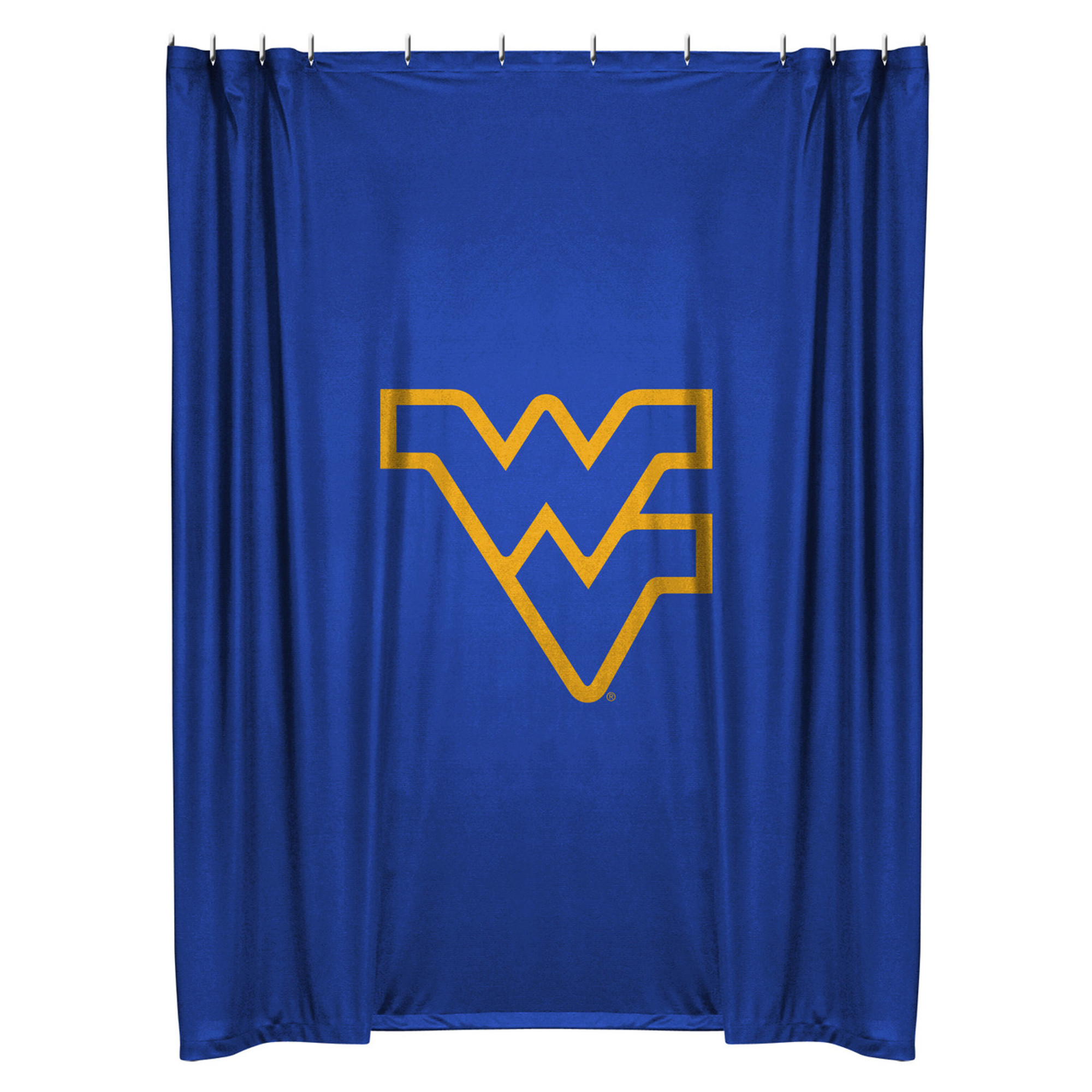 West Virginia Mountaineers Shower Curtain