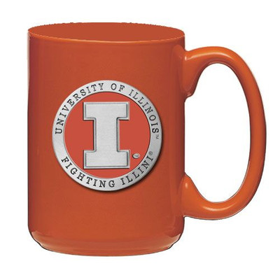 Illinois Fighting Illini Coffee Mug Set of 2