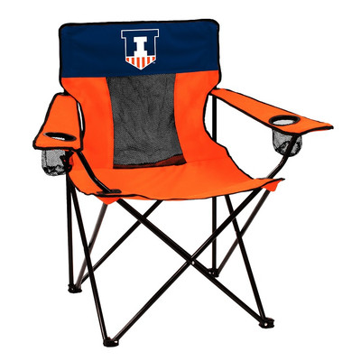 Illinois Fighting Illini Elite Tailgate Chair