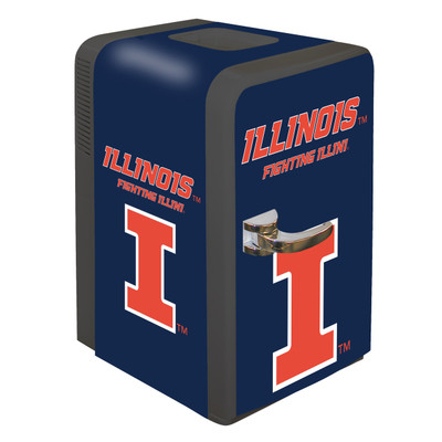 Illinois Fighting Illini 15 qt Party Fridge | Boelter