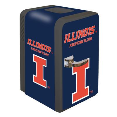 Illinois Fighting Illini 15 qt Party Fridge | Boelter