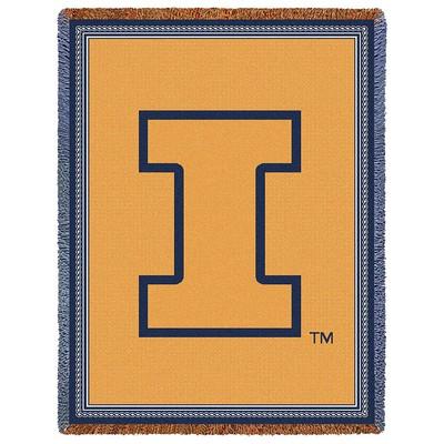 Illinois Fighting Illini Stadium Blanket