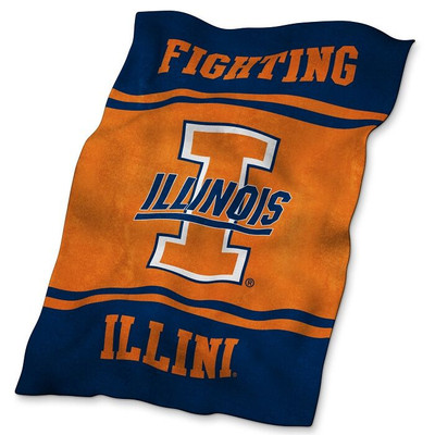 Illinois Fighting Illini Ultrasoft Blanket