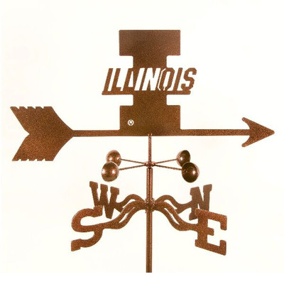 Illinois Fighting Illini Weathervane