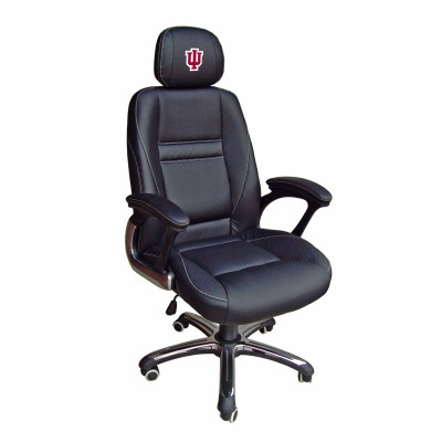 Indiana Hoosiers Leather Office Chair