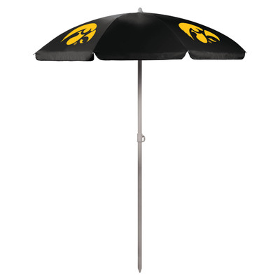 Iowa Hawkeyes Beach Umbrella