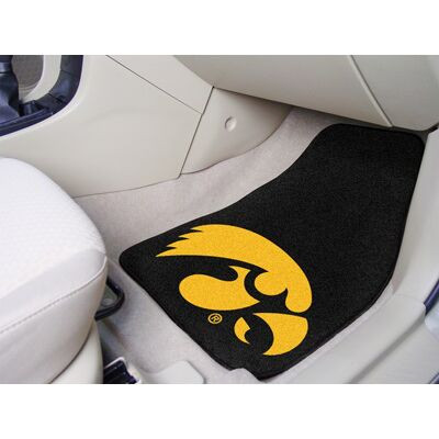 Iowa Hawkeyes Carpet Floor Mats