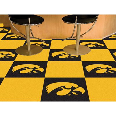 Iowa Hawkeyes Carpet Tiles