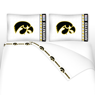 Iowa Hawkeyes Microfiber Sheet Set