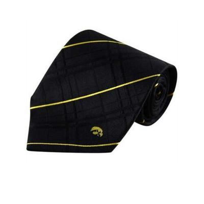 Iowa Hawkeyes Oxford Woven Silk Tie | Eagles Wings | 4868