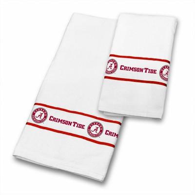 Alabama Crimson Tide Bath Towel Set   Sports Coverage   04CTTWS4ALUSETS