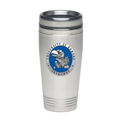 Kansas Jayhawks Thermal Mug