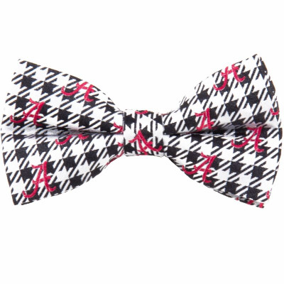 Alabama Crimson Tide Bow Tie Houndstooth