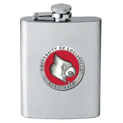Louisville Cardinals Flask
