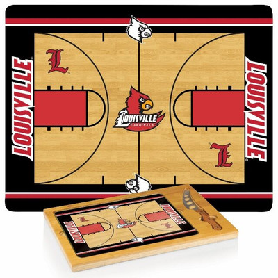 Louisville Cardinals Icon Cheese Tray