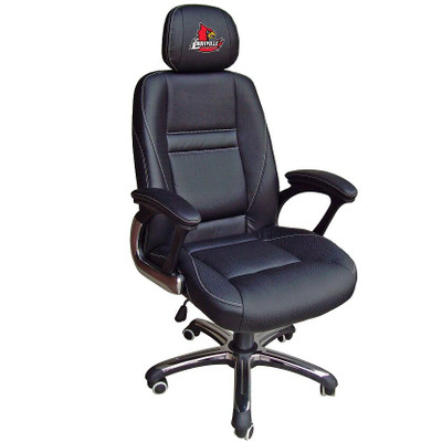 Louisville Cardinals Leather Office Chair | Wild Sports | 901C-LOU