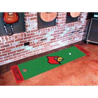 Louisville Cardinals Putting Green Mat