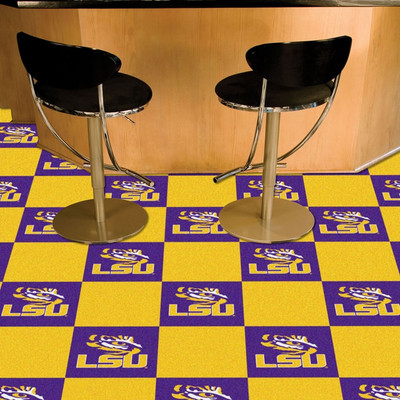 LSU Tigers Carpet Tiles