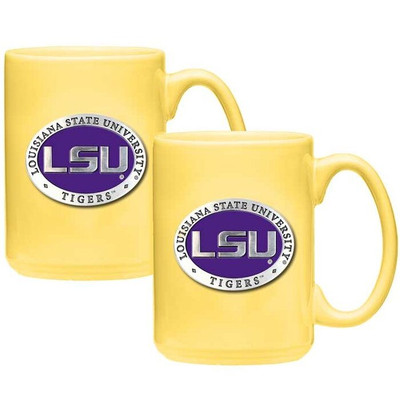 LSU Tigers Coffee Mug Set of 2