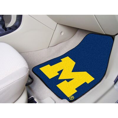 Michigan Wolverines Carpet Floor Mats