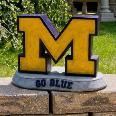 Michigan Wolverines Mascot Garden Statue