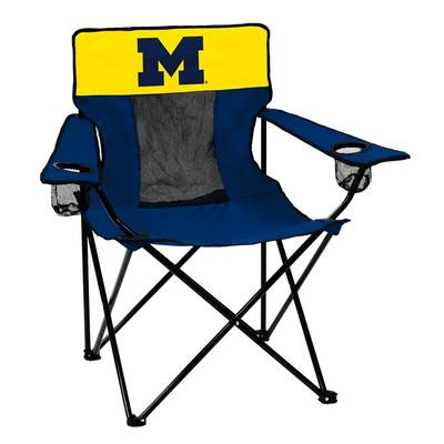 Michigan Wolverines Elite Tailgate Chair | Logo Chair | 171-12E