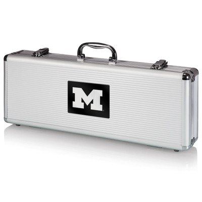 Michigan Wolverines Grill Set